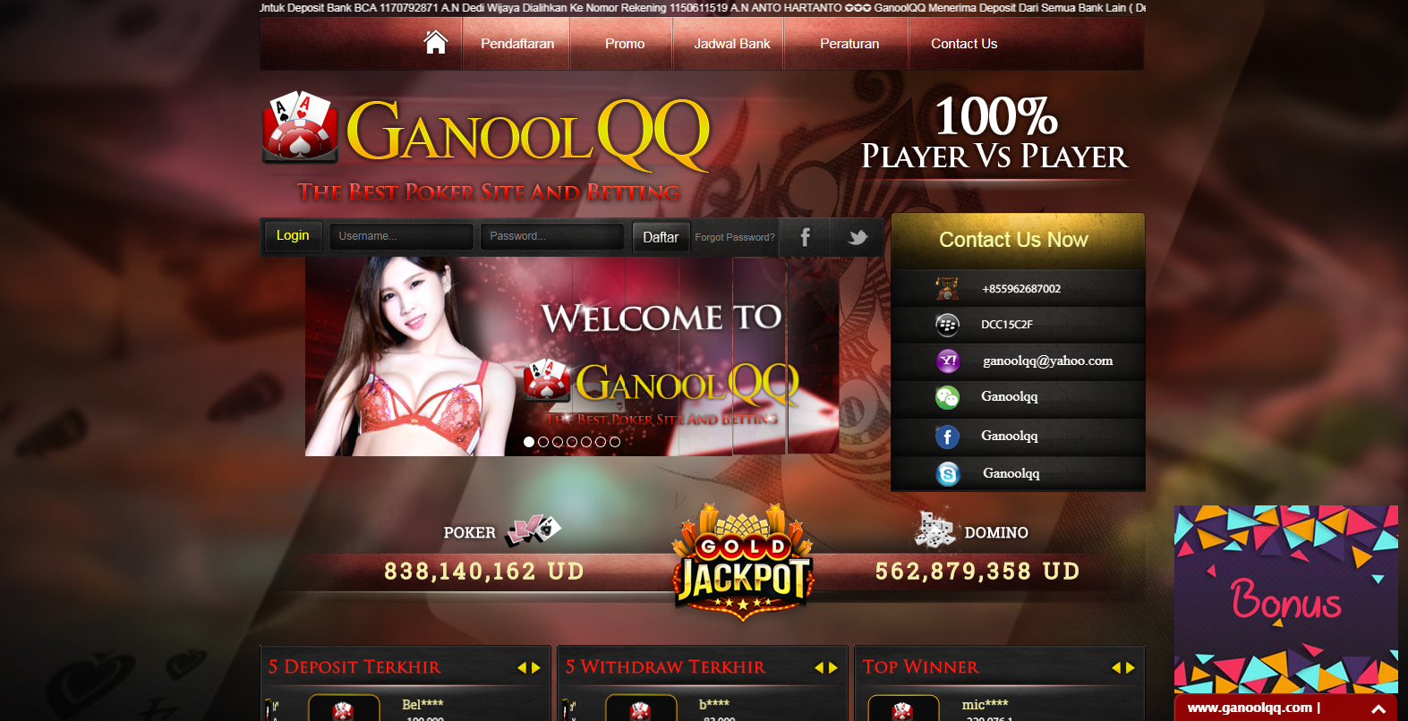 Different Types Of Online Betting